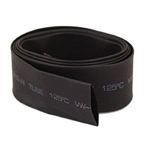 Rurka koszulka termokurczliwa 20mm czarna 2:1