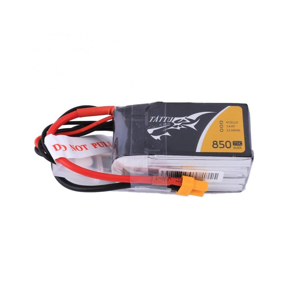 Tattu Gens Ace Li-Pol 850mAh 14,8V 75C 4S