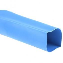 Rurka koszulka termokurczliwa 50mm Niebieska 2:1