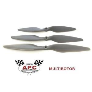 Śmigło 9x4,5 MRP (lewe) CW - APC Multi-Rotor Pusher