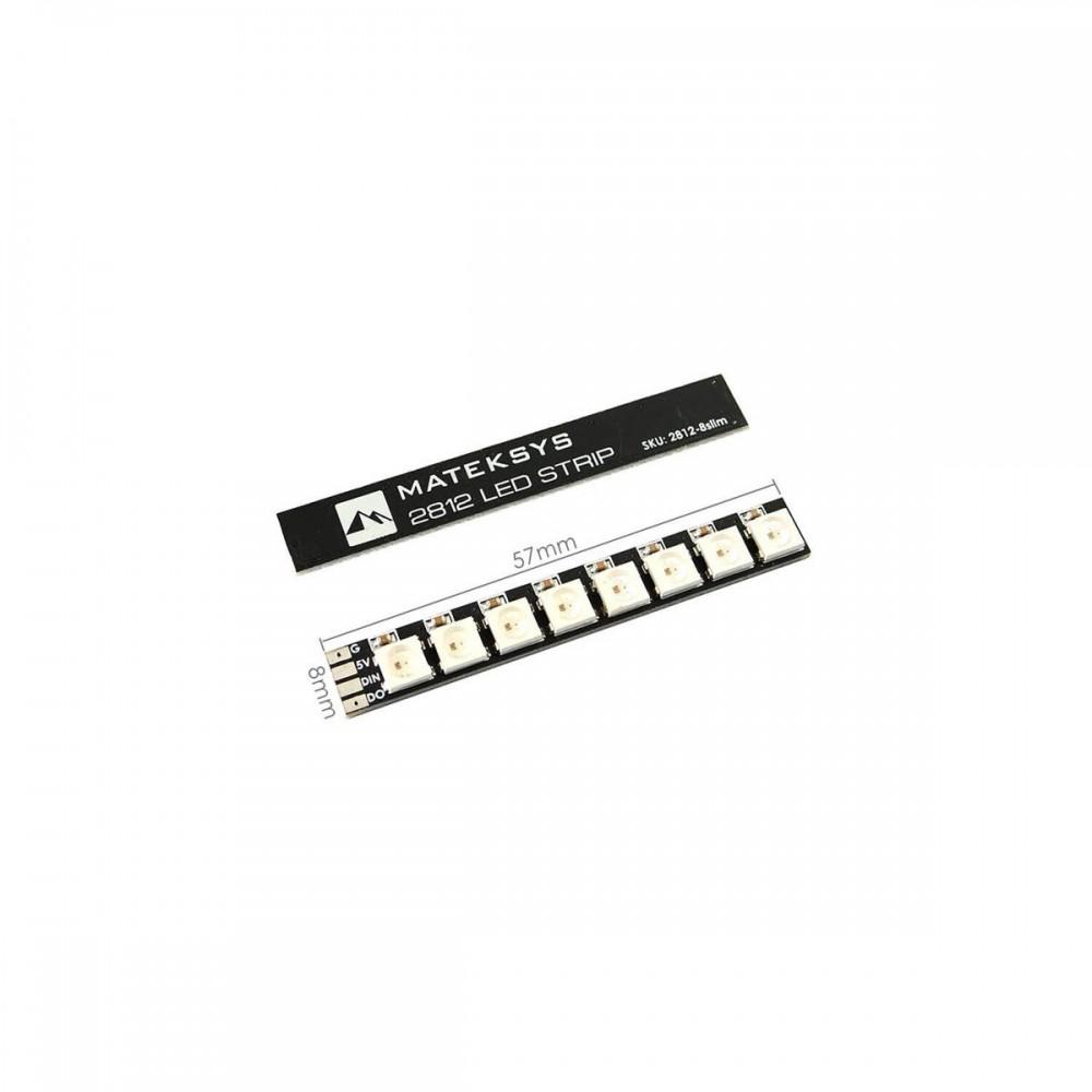 Matek 2812 LED STRIP SLIM 5V 2 sztuki