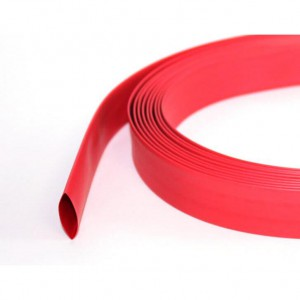 Rurka koszulka termokurczliwa 30mm Czerwona 2:1