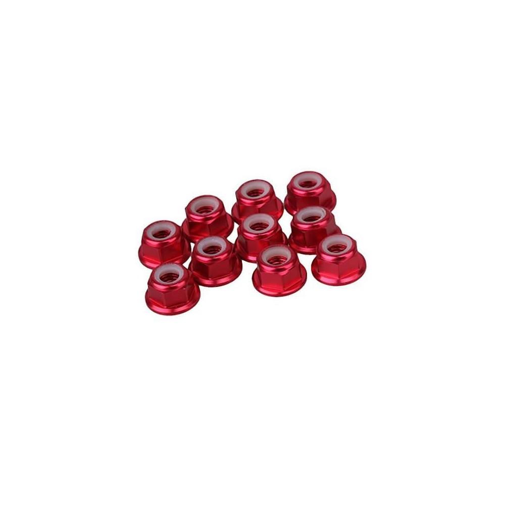 Nakrętka alumuniowa M5 czerwona do silników 1806,2205,2207 2306