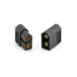 Wtyk Konektor XT60 czarny black - para