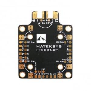PDB Matek FCHUB-A5 - Czujnik Napięcia 184A, BEC 5V 2A
