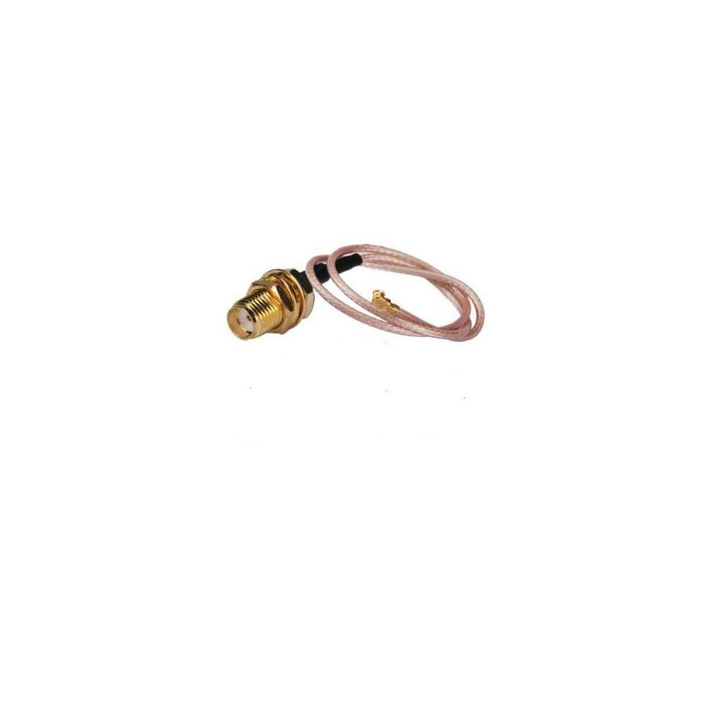 Adapter U.FL (IPEX) - SMA female długość 10cm