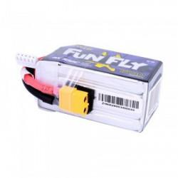 Li-Pol Gens Ace 1550mAh 14,8V 100C FunFly 4S