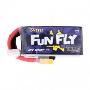 Li-Po Tattu FunFly 1550mAh 4S 100C