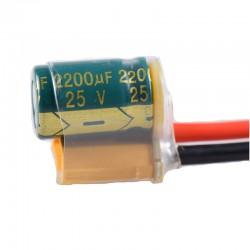 XT60-CAP XT60 z kondesnatorem  POWER FILTER