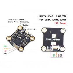 Jeden z najmniejszych i najlżejszych VTX przystosowany do montażu na stacku 16x16