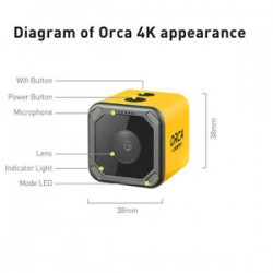 Kamera 4k Caddx Orca FPV HD WiFi Anti-Shake