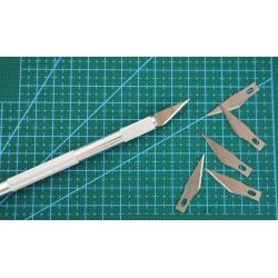 Skalpel modelarski z wymiennymi ostrzami Avifly Cut Pro