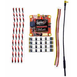 PandaRC VT5804M L1 4-in-1 VTX z wbudowanymkontrolerem led, buzzerem oraz mikrofonem do drona wyścigowego