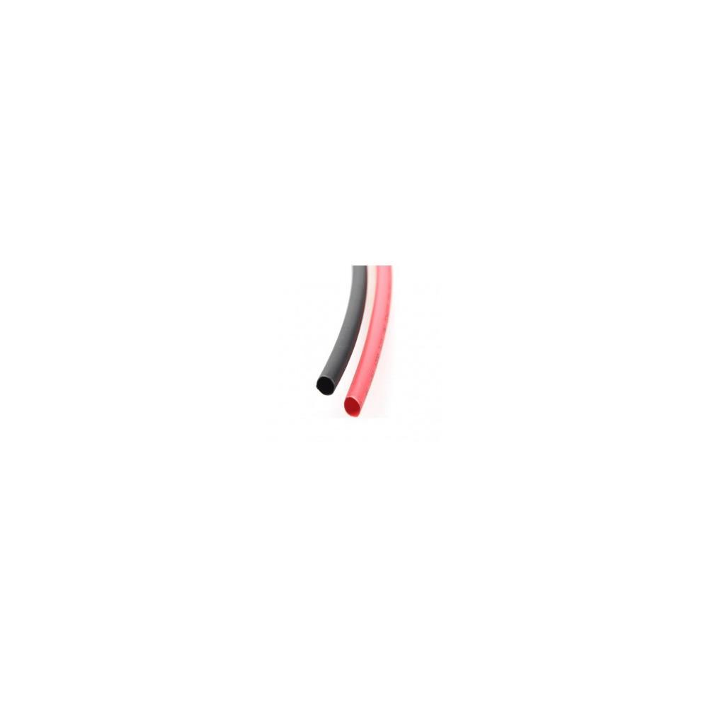 Koszulka termokurczliwa 2mm para czerwona i czarna