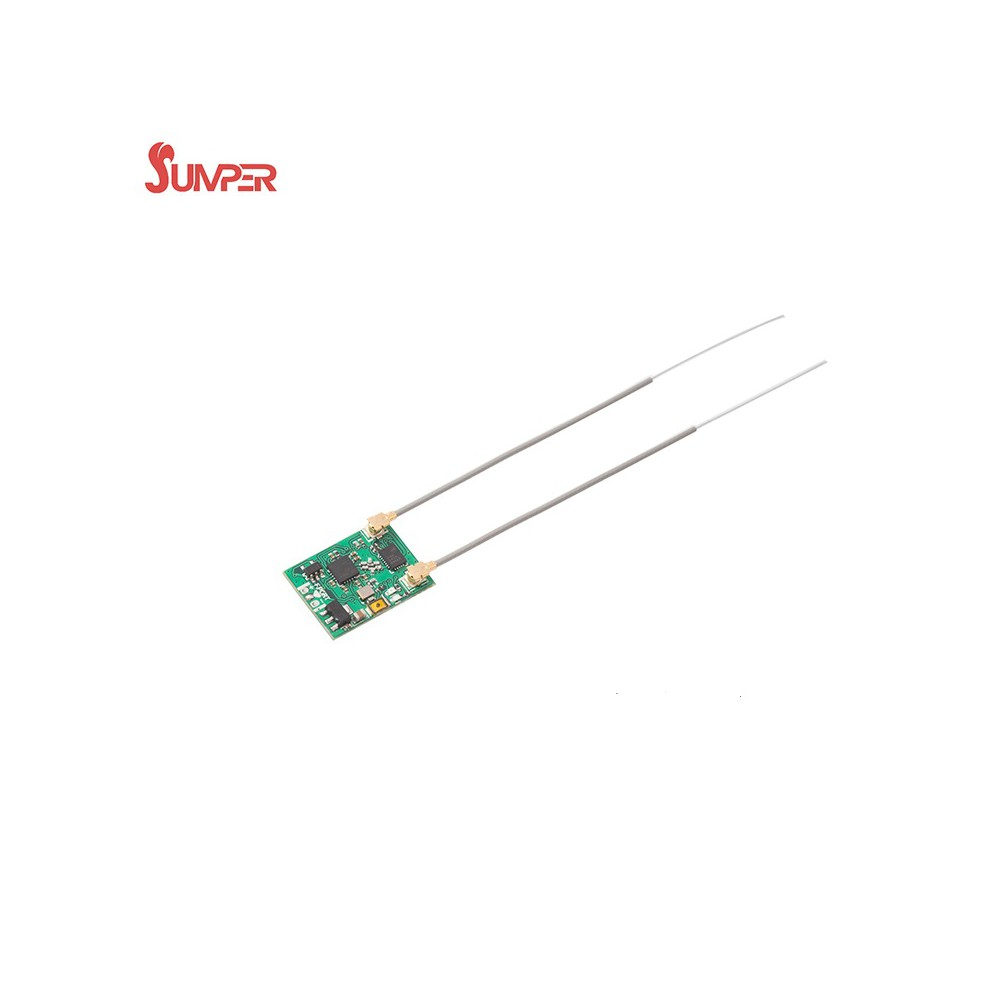 Jumper receiver for FPV racing drone