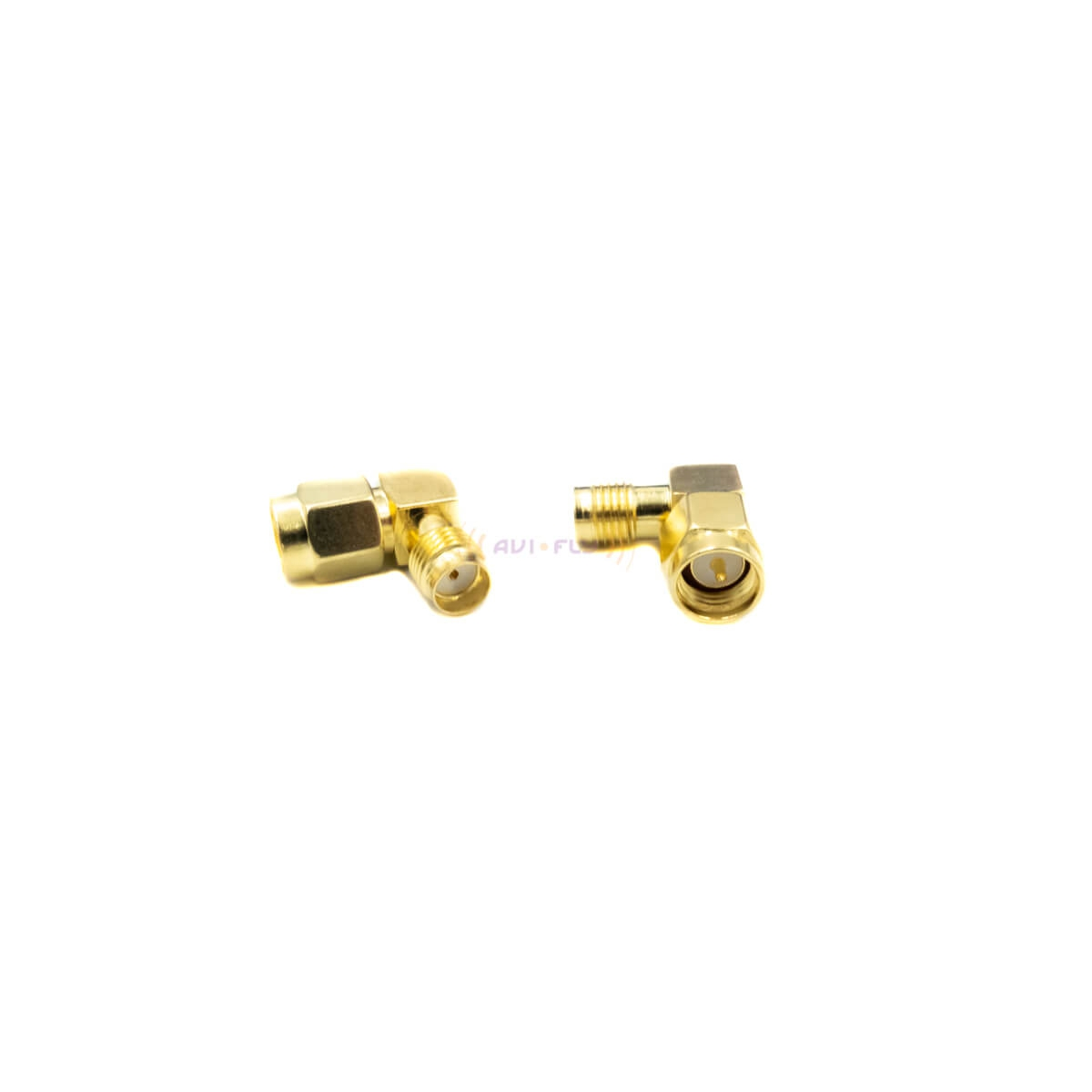 SMA to SMA 90 Degree Adapter for FPV goggles