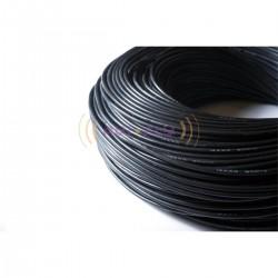 Przewód silikonowy Amass 14AWG 2,07mm czarny 1m