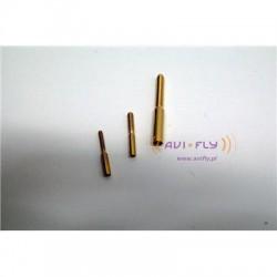 Końcówka bowdena M4  fi 3mm 2szt