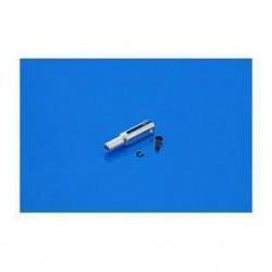 Snap aluminiowy O3mm 23mm z pinem 1,6mm 2szt