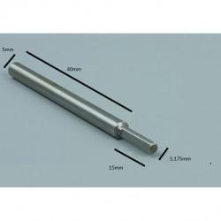 Oś do silnika B3640 shaft 3.175mm