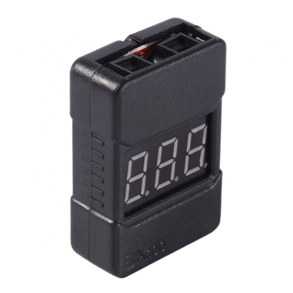 BX100 Buzzer Alarm Miernik 2-8S Lipol