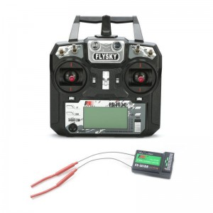 Aparatura FlySky FS-i6X 10CH 2,4GHz Mode 2 + odbiornik FS-iA10B