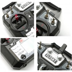Aparatura FS-i6X 10CH 2,4GHz Mode 2 + odbiornik FS-iA10B