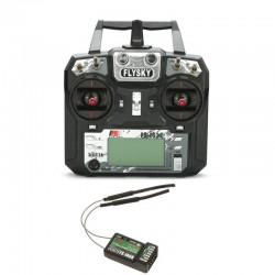 Aparatura FS-i6X 10CH 2,4GHz Mode 2 + odbiornik FS-iA6B