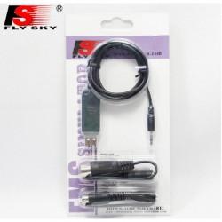 Adapter USB FlySky Symulator FS-SM100 - Mini Jack - Mały i Duży DIN