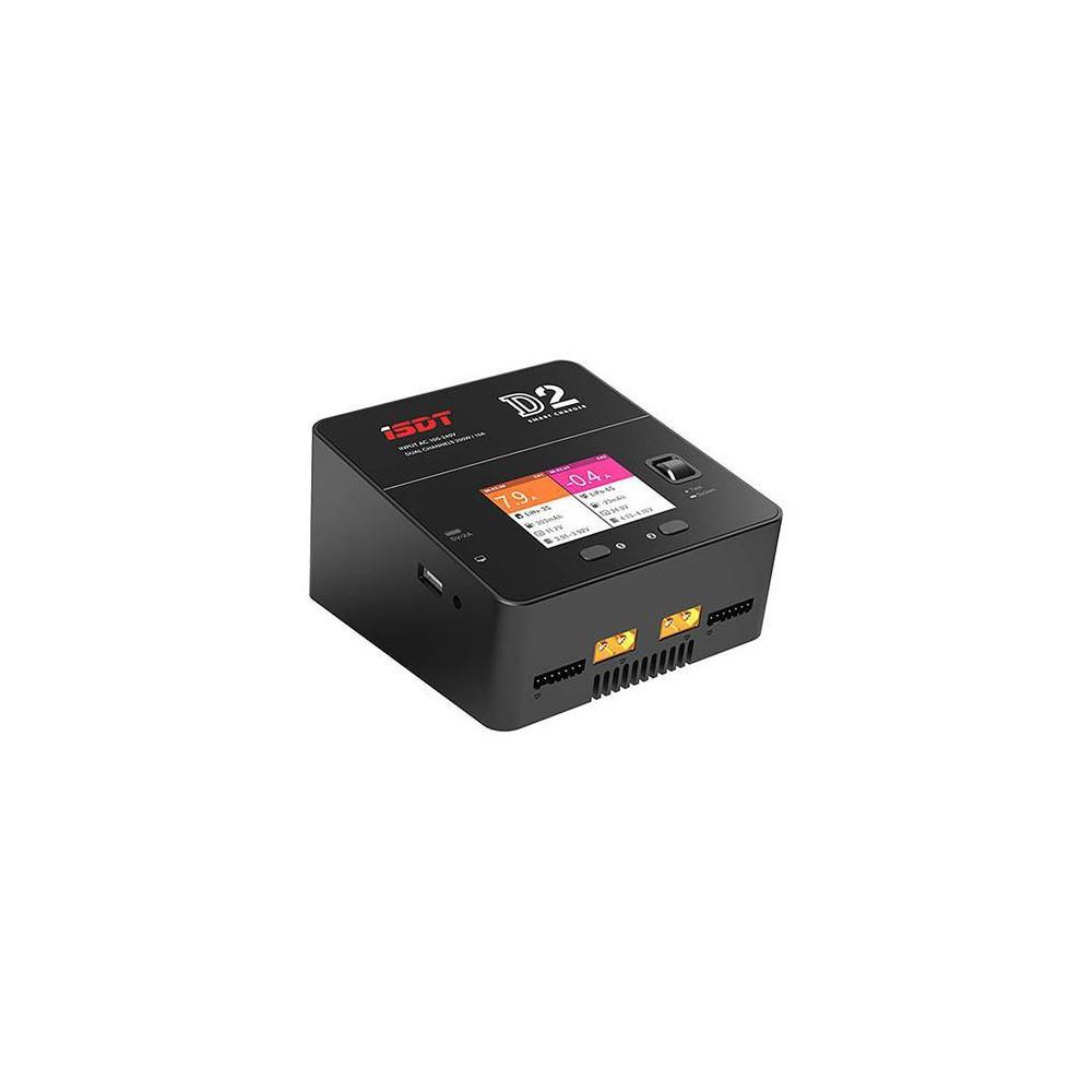 Ładowarka iSDT D2 200W - podwójna, AC 230V
