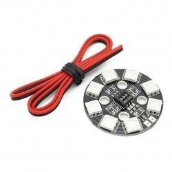 Matek Okrąg LED RGB wielokolorowy X8/16V 4S