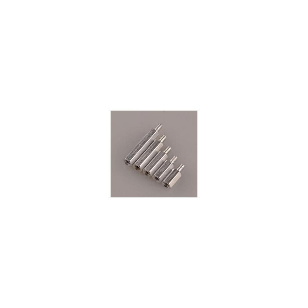 Aluminiowy dystanser kolumna M3x(30+6) żeńsko / męski 1 szt.