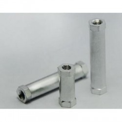 Aluminiowy dystanser kolumna M3x25 żeńsko / żeński