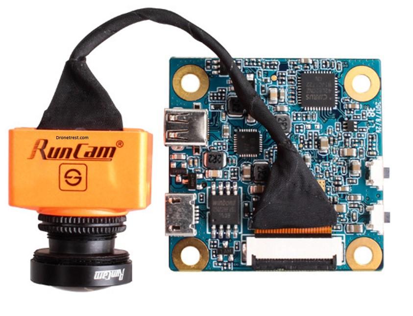 Kamera do FPV RunCam Split 2 z funkcją nagrywania o parametrze latency zaledwie 38ms