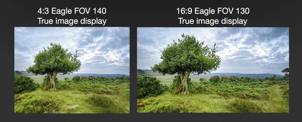 Współczynnik proporcji kamer FPV 4:3 vs 16:9