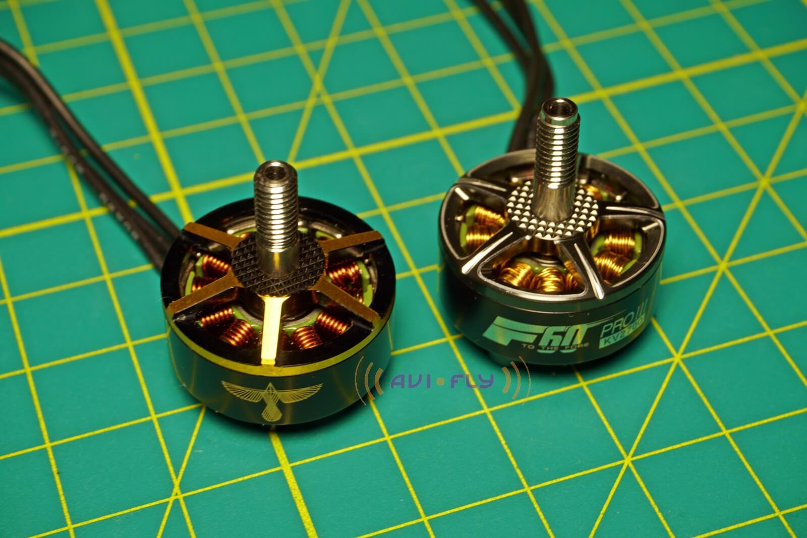 Porównanie silnika F60 PRO III oraz Black Bird z firmy T-Motor