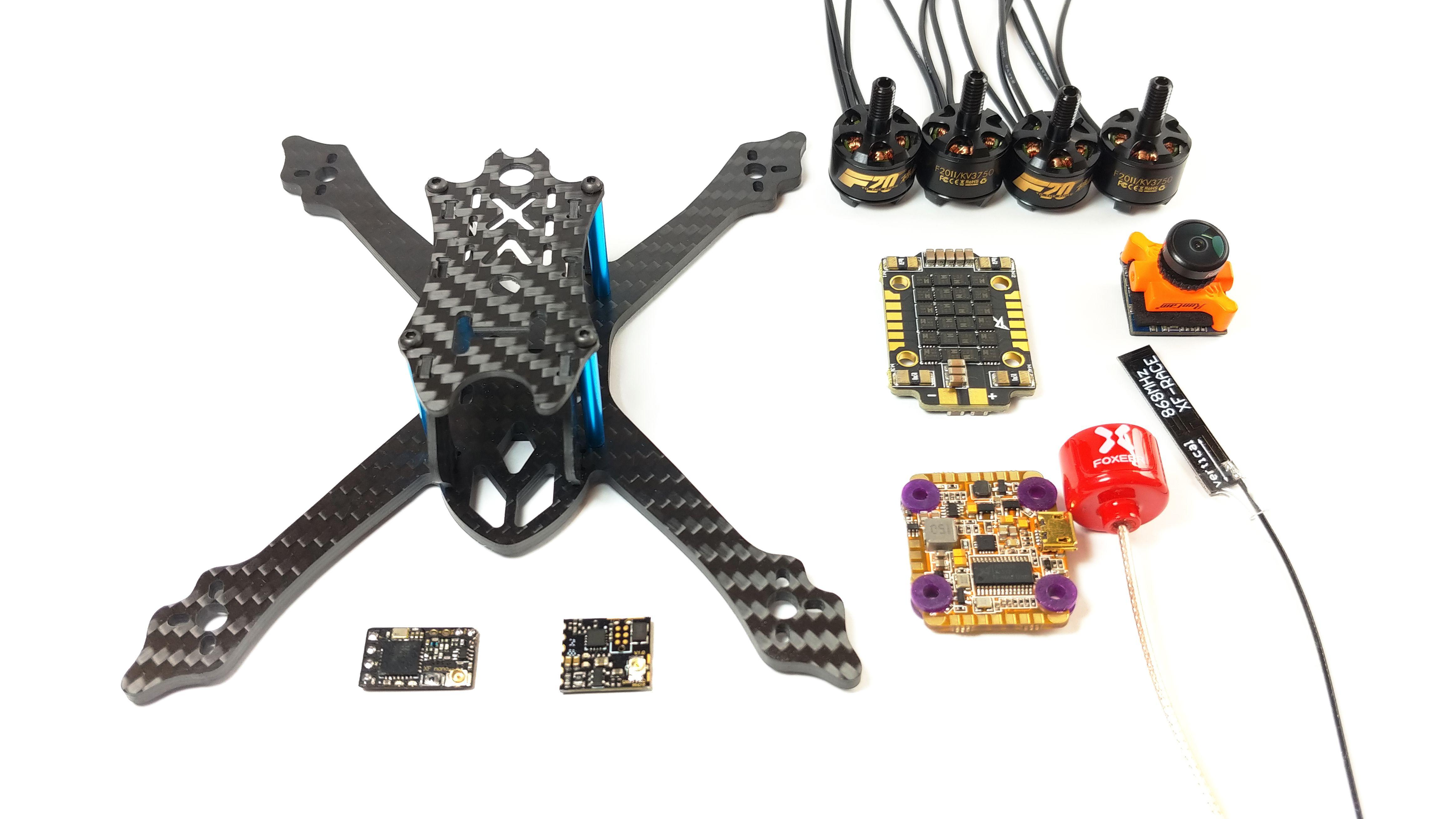 Fotorelacja z budowy drona 3″