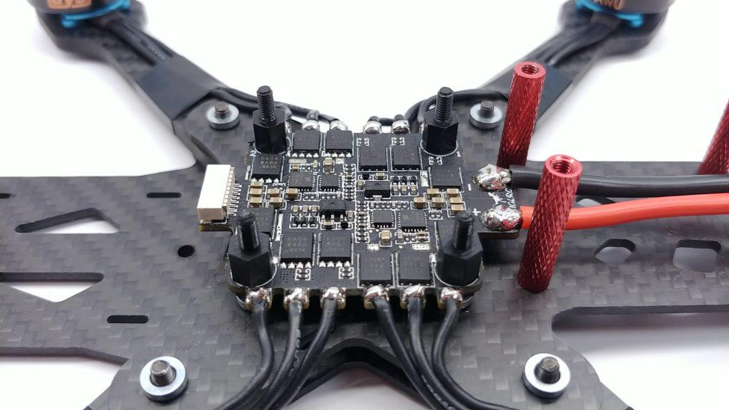 Dolutowanie silników do ESC