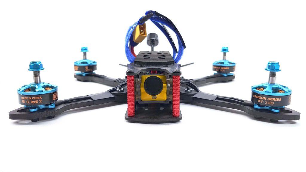 Dron FPV gotowy do lotu RTF i ARF Volant o rozmiarze 5 cali