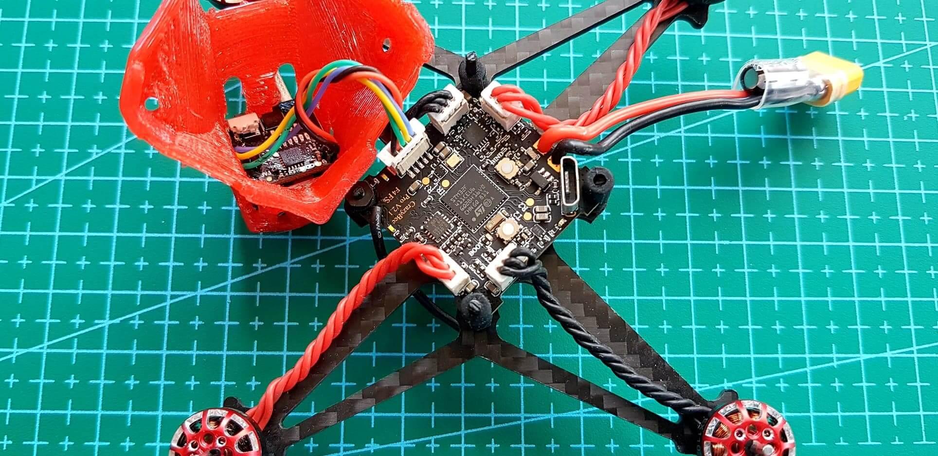Elektronika w dronie Sailfly-X
