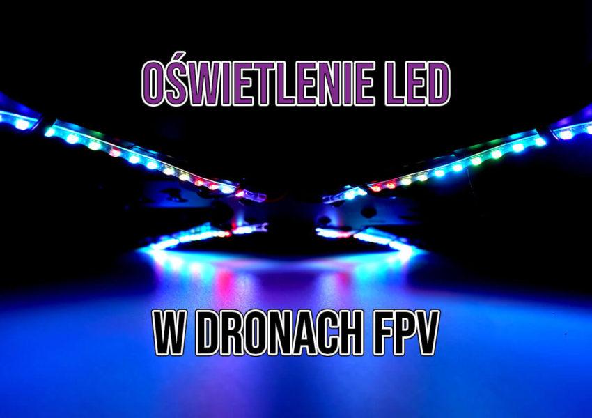 oświetlenie LED w dronach FPV AVIFLY
