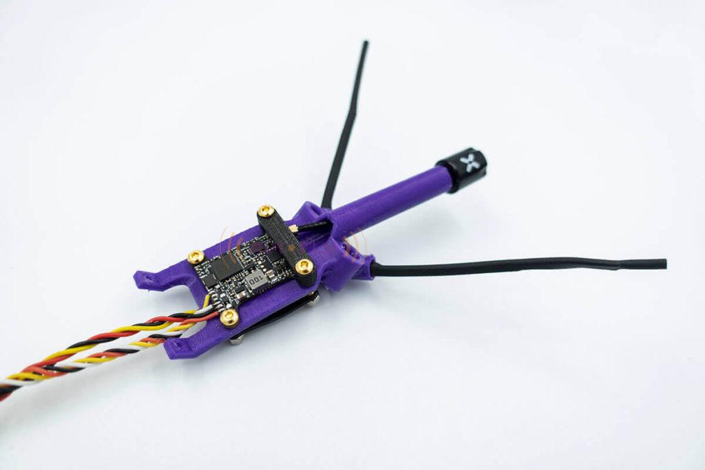 Montaż VTX oraz odbiornika do drona FPV