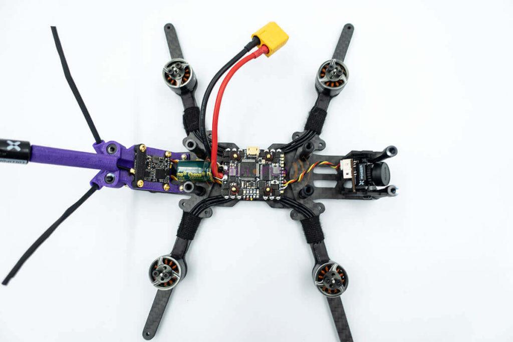 Wygląd drona FPV na aktualnym etapie