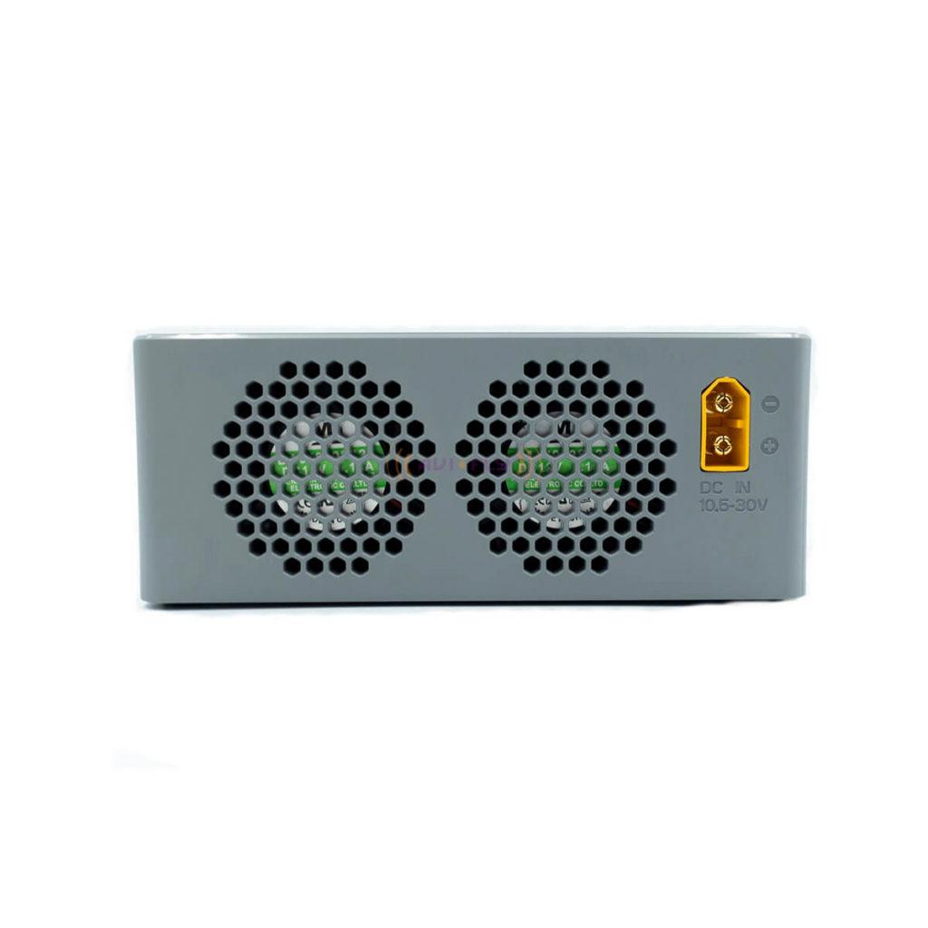 Chłodzenie ładowarki HOTA F6 do ładowania pakietów LiPo