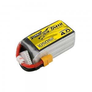 Li-Po Batteries give long and safe flight of your drone.