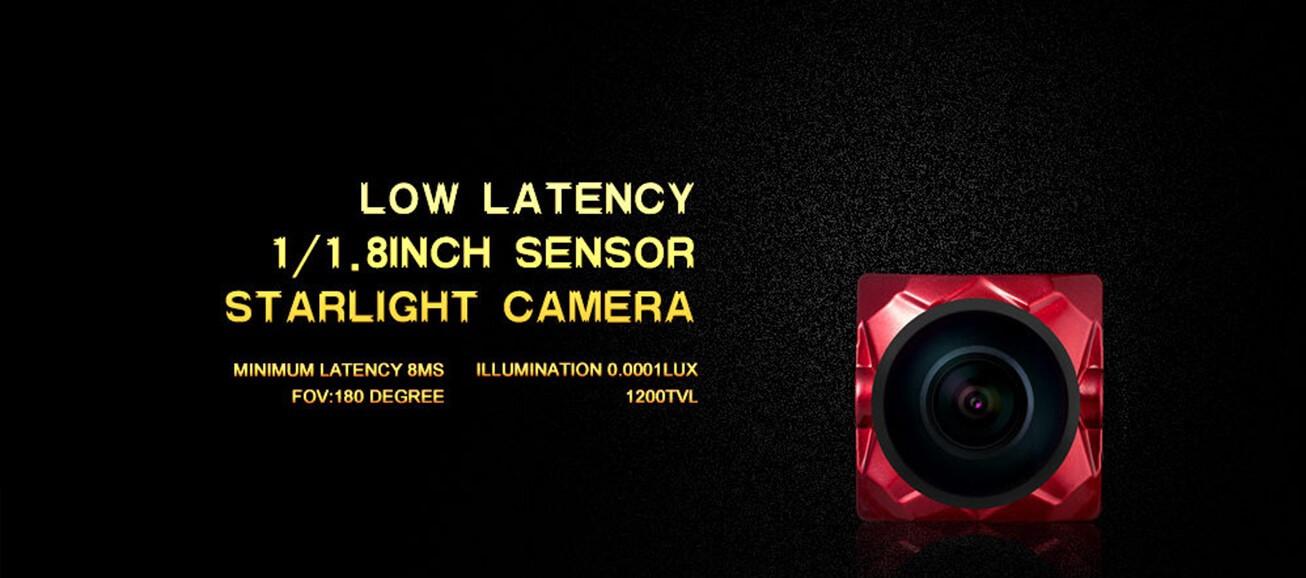 Caddx Ratel kamera z bardzo dobrymi parametrami przy czym bardzo lekka