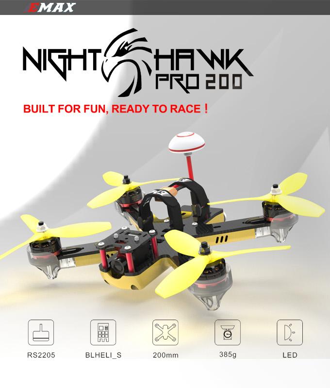 Nighthawk Pro 200 - zalety