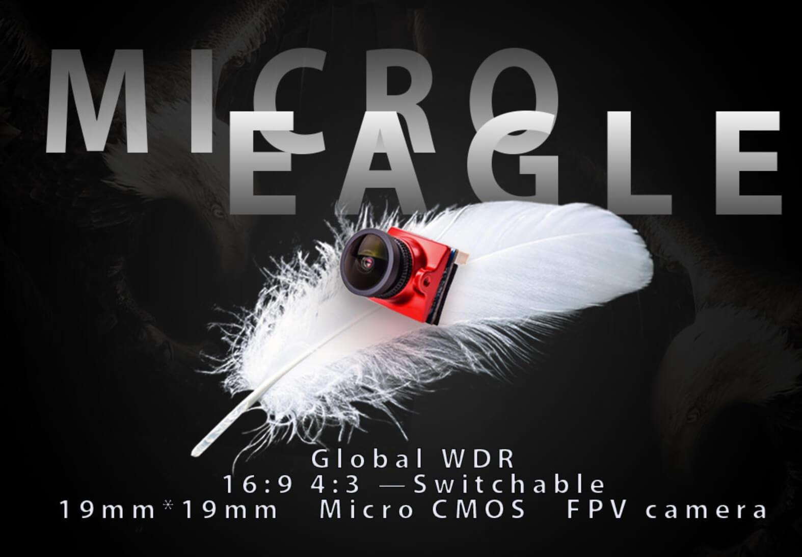 Lekka i mała kamera do FPV micro eagle.