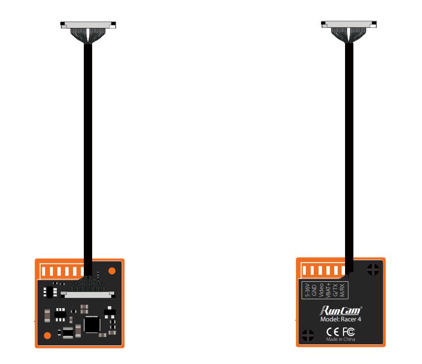 Podłączenie kamery RunCam Racer 4 do systemu cyfrowego DJI przewodem 26p