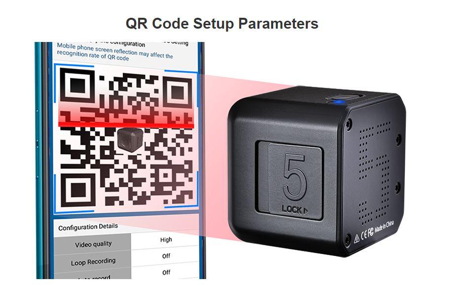 Ustawianie z pomocą kodów QR